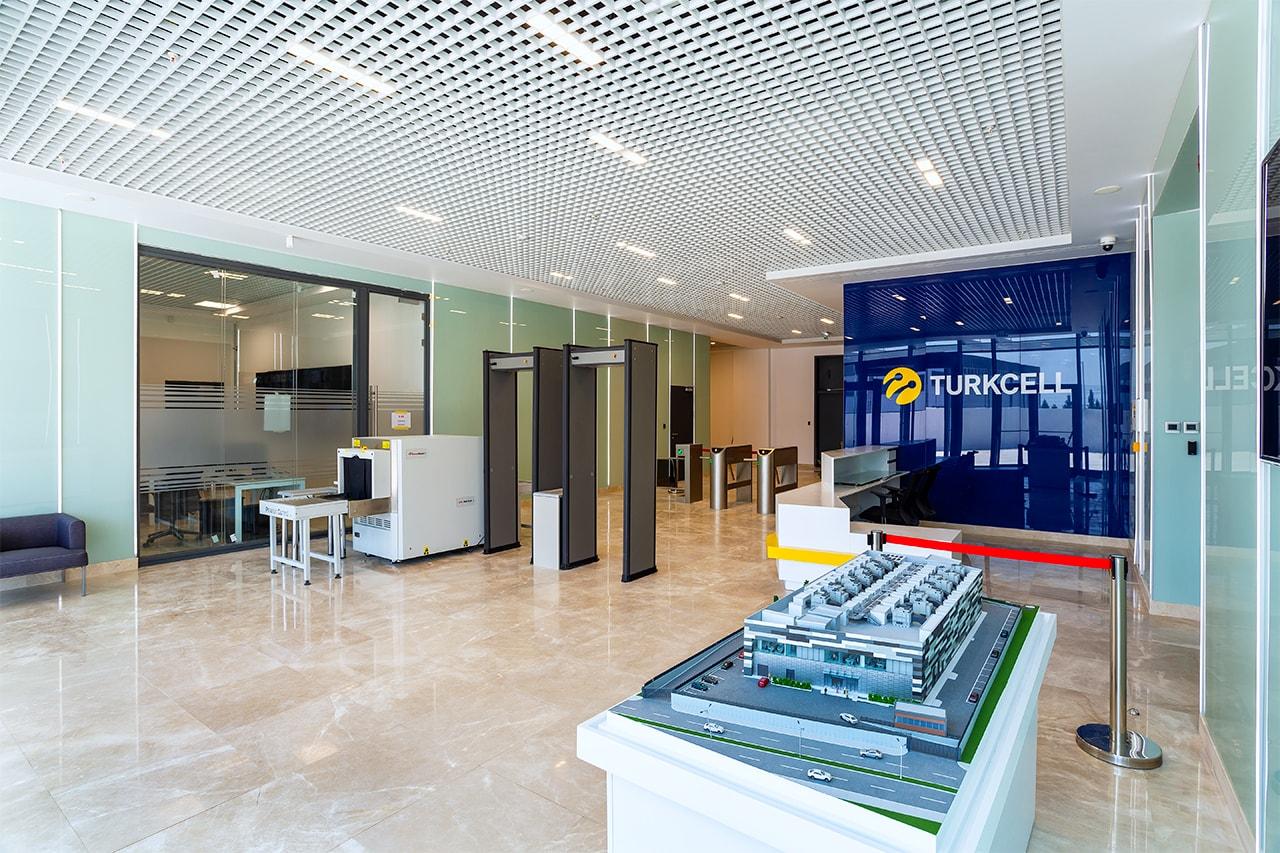 Telemobil firması tarafından İzmir Torbalı'da inşa edilen Türkcell Data Center binasının profesyonel fotoğraf çekimi